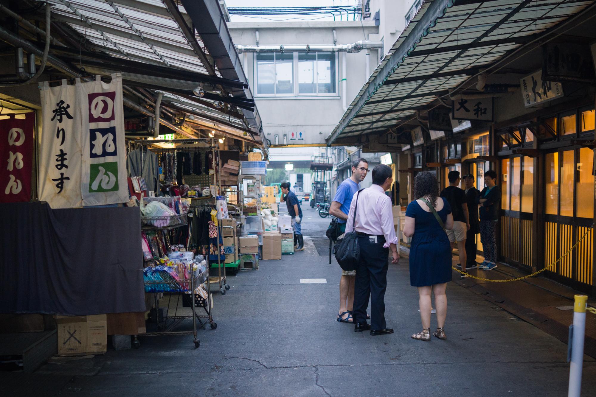 Sushi Dai Alleyway