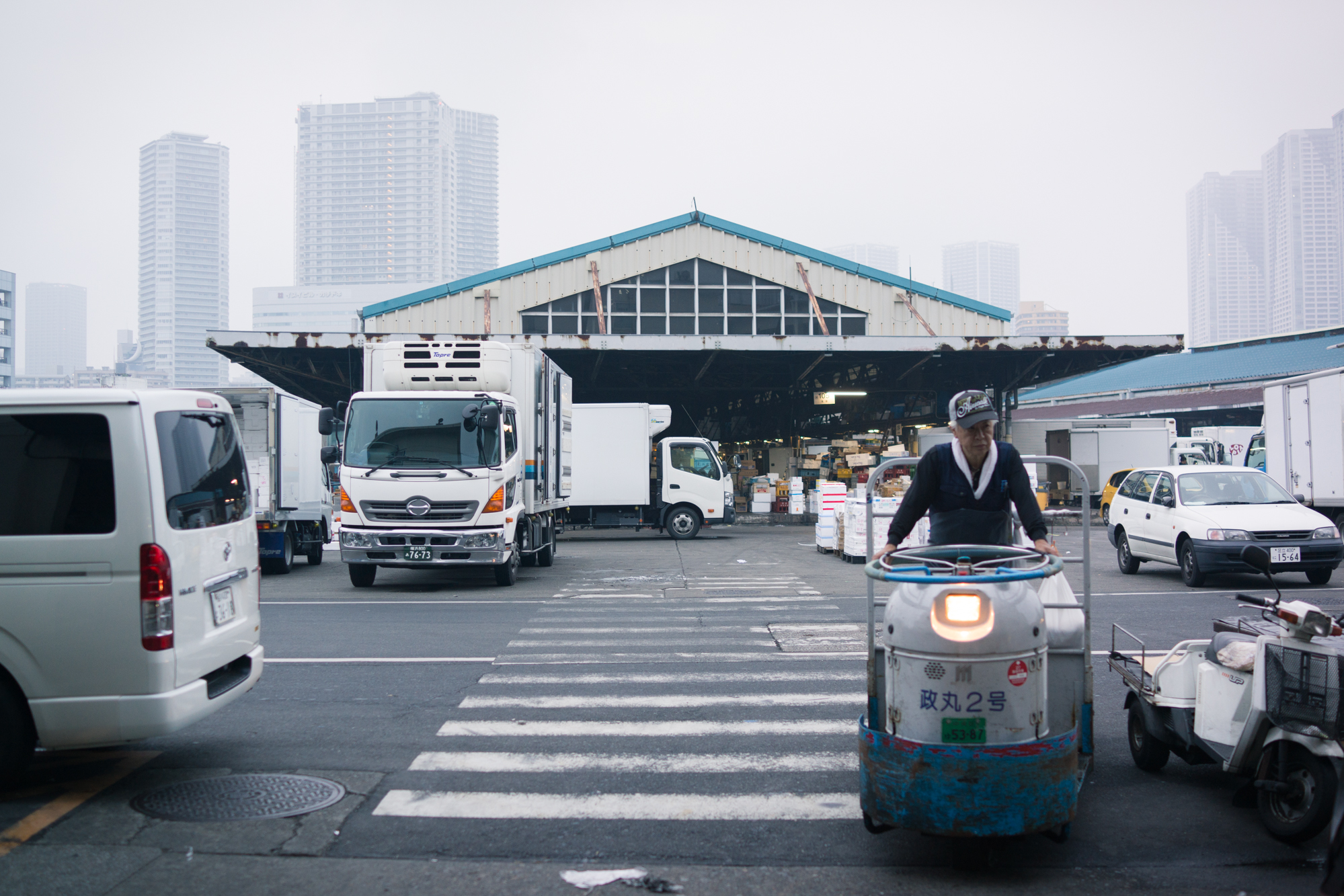 Tsukiji Market Workers
