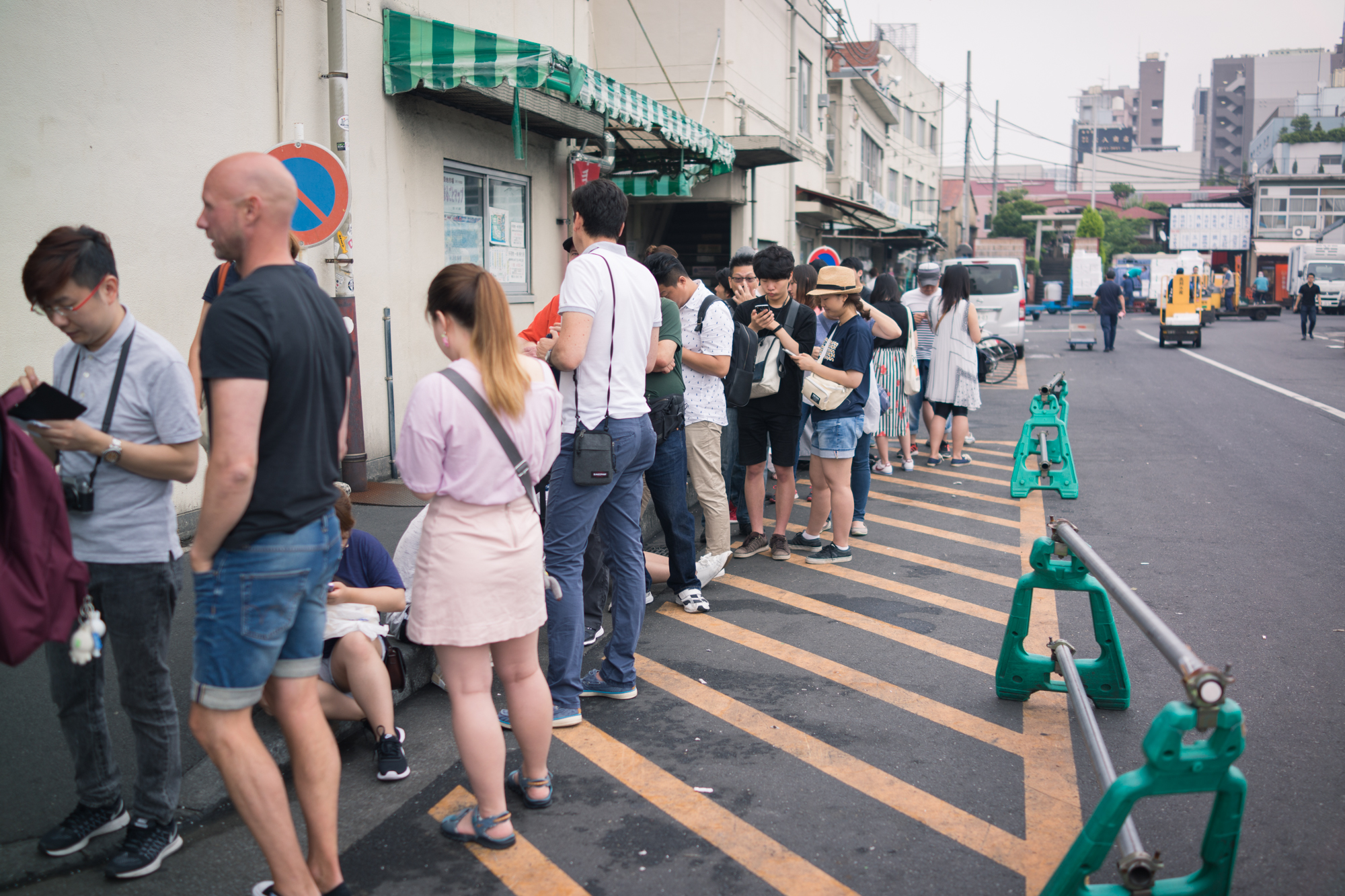 Queue Outside Sushi Dai