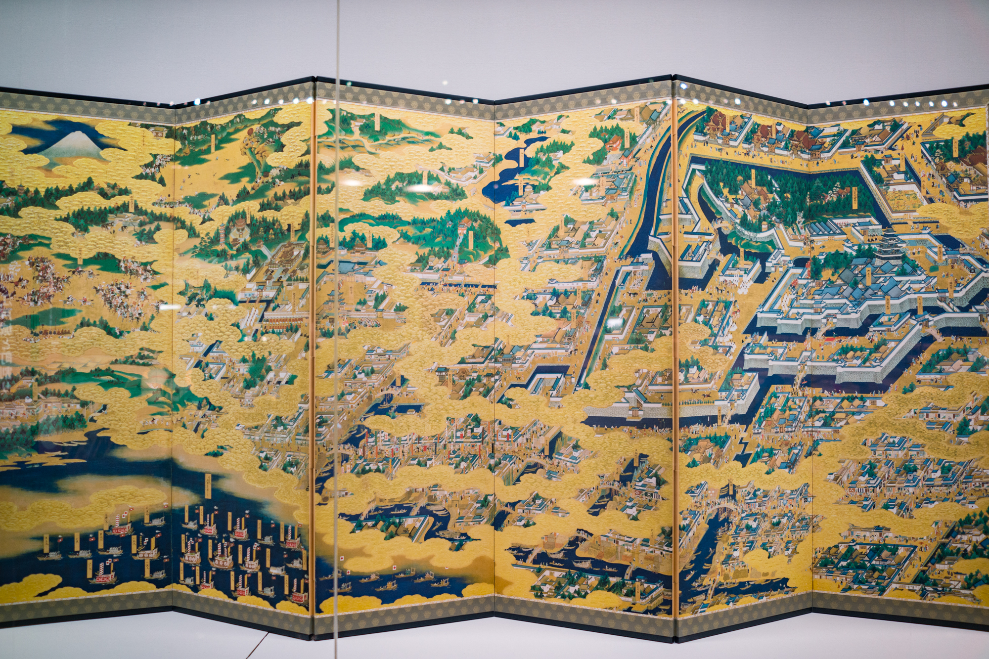 Detailed Edo Screen