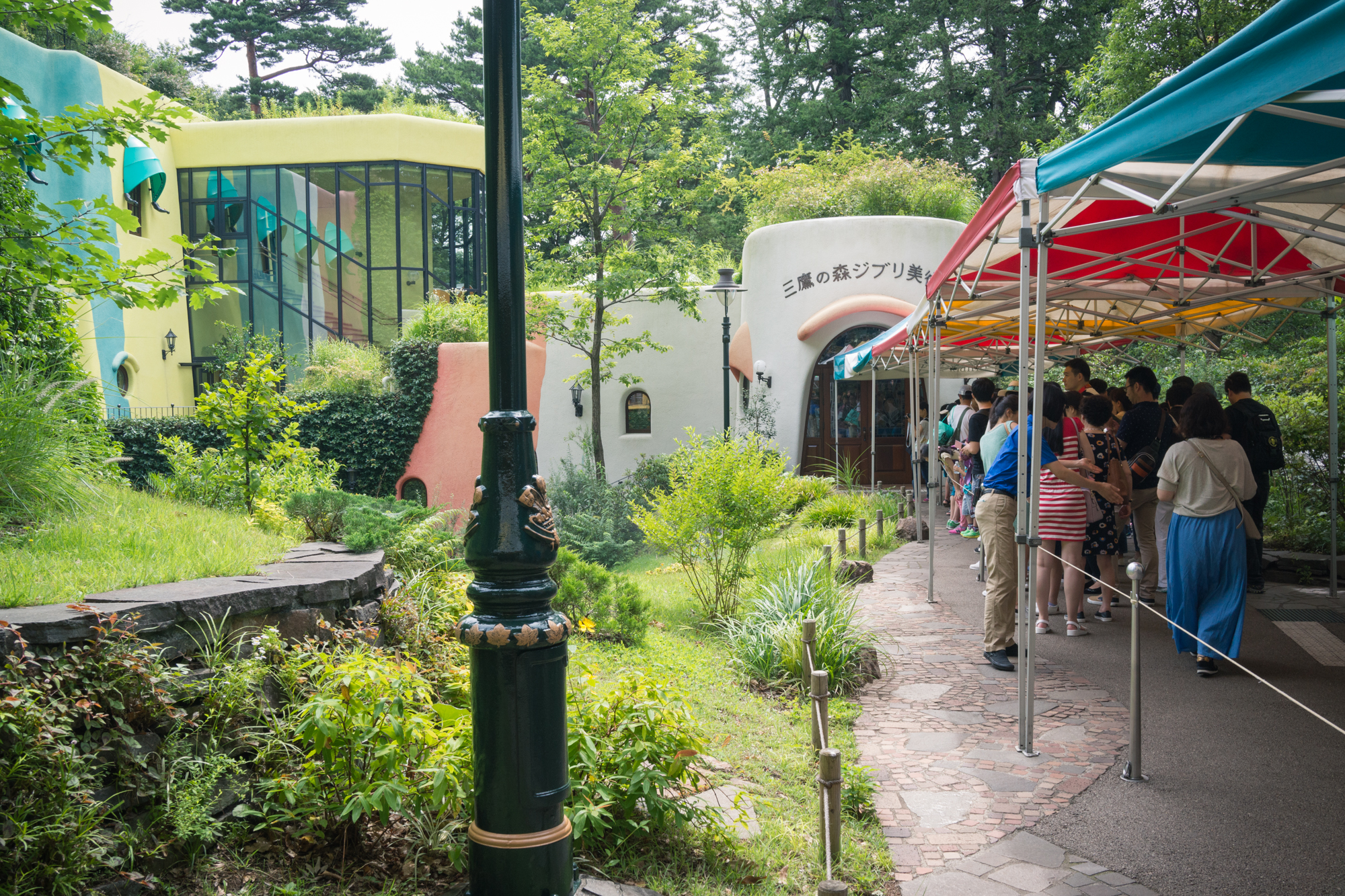Outside of Ghibli Museum