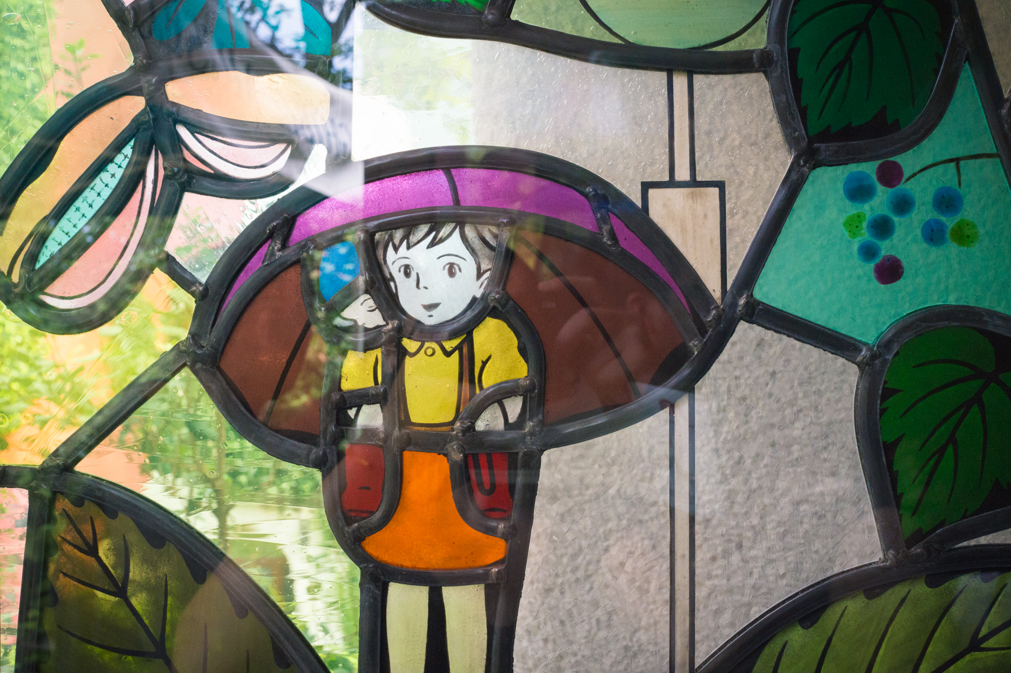 Ghibli Museum Totoro Stained Glass