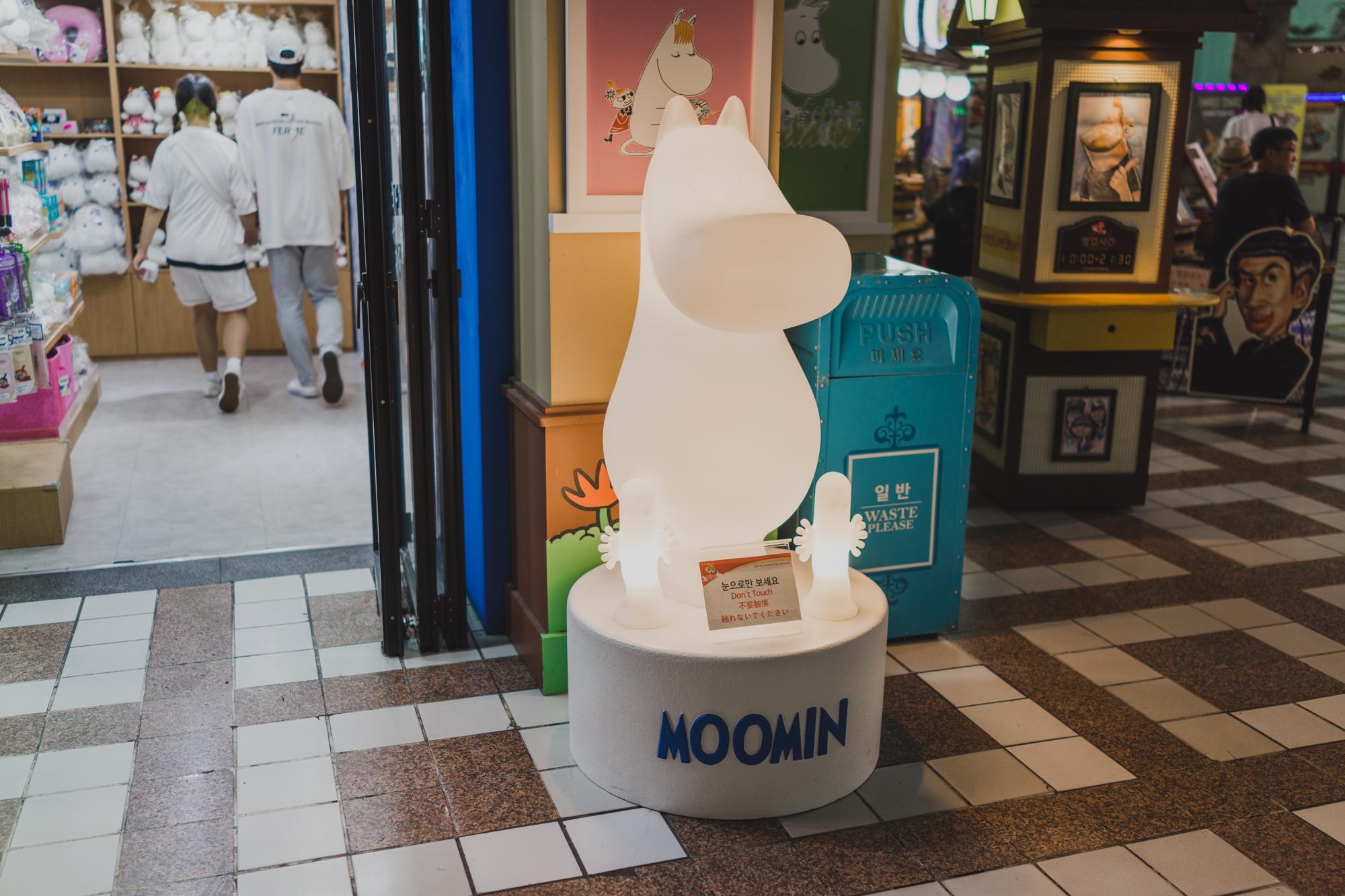 Moomin Store in Lotte World Seoul