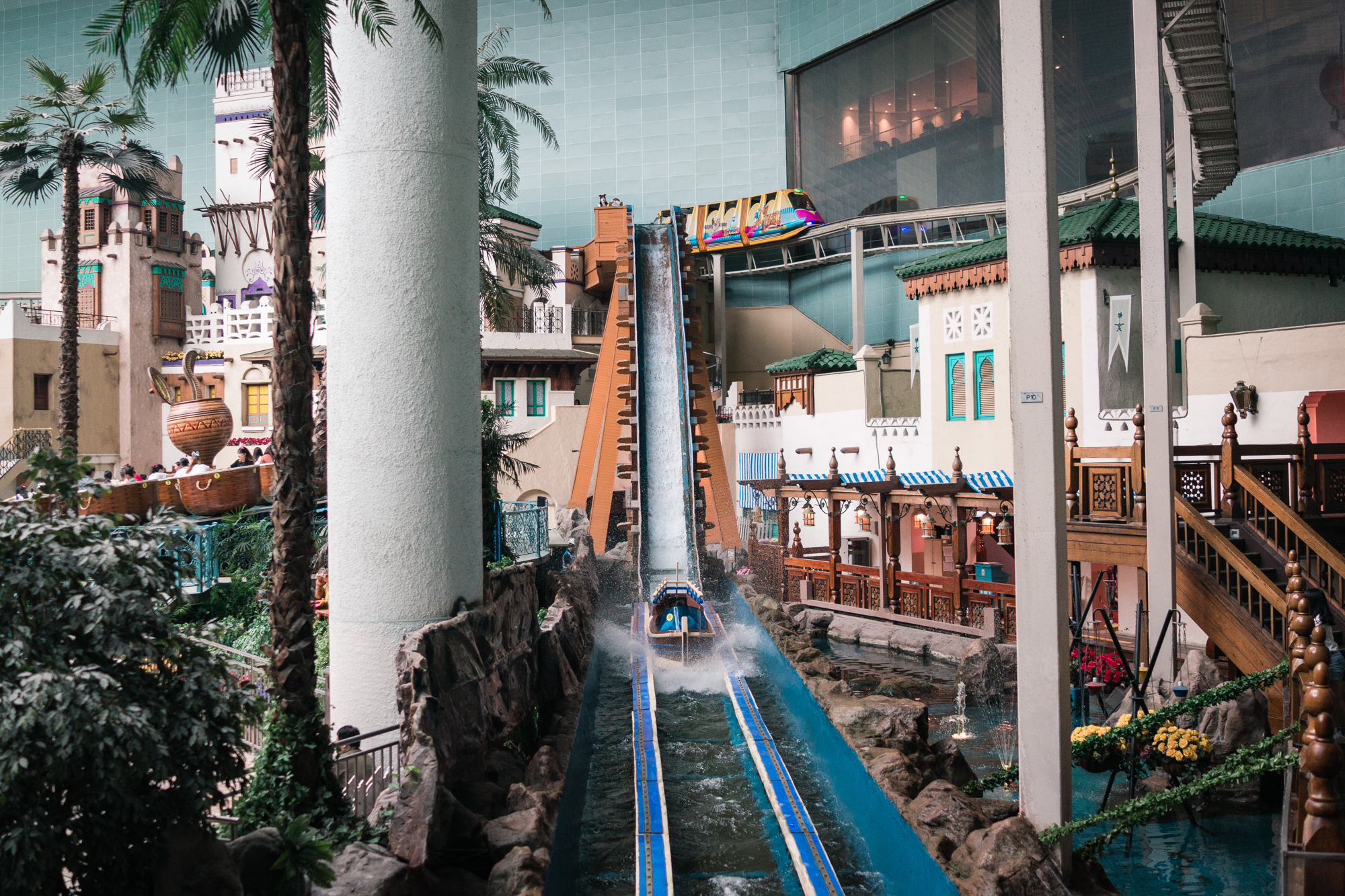 Flume Ride at Lotte World