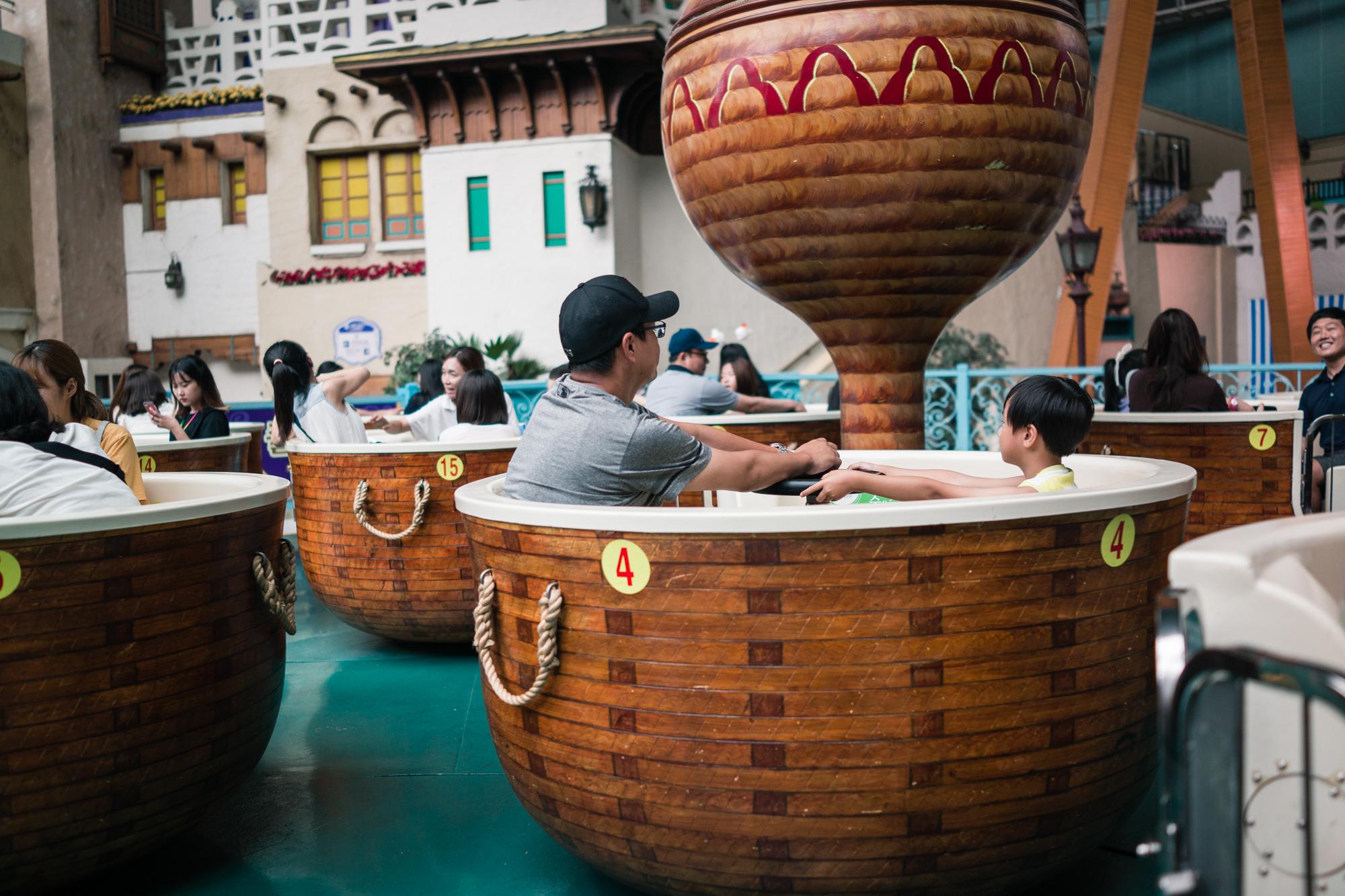 Drunken Basket at Lotte World