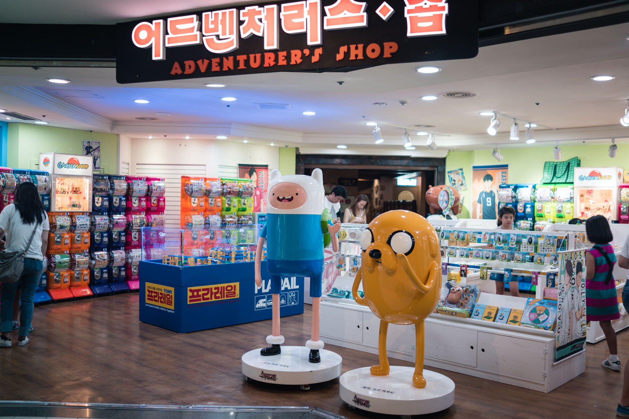 Adventure Time Gift Shop at Lotte World