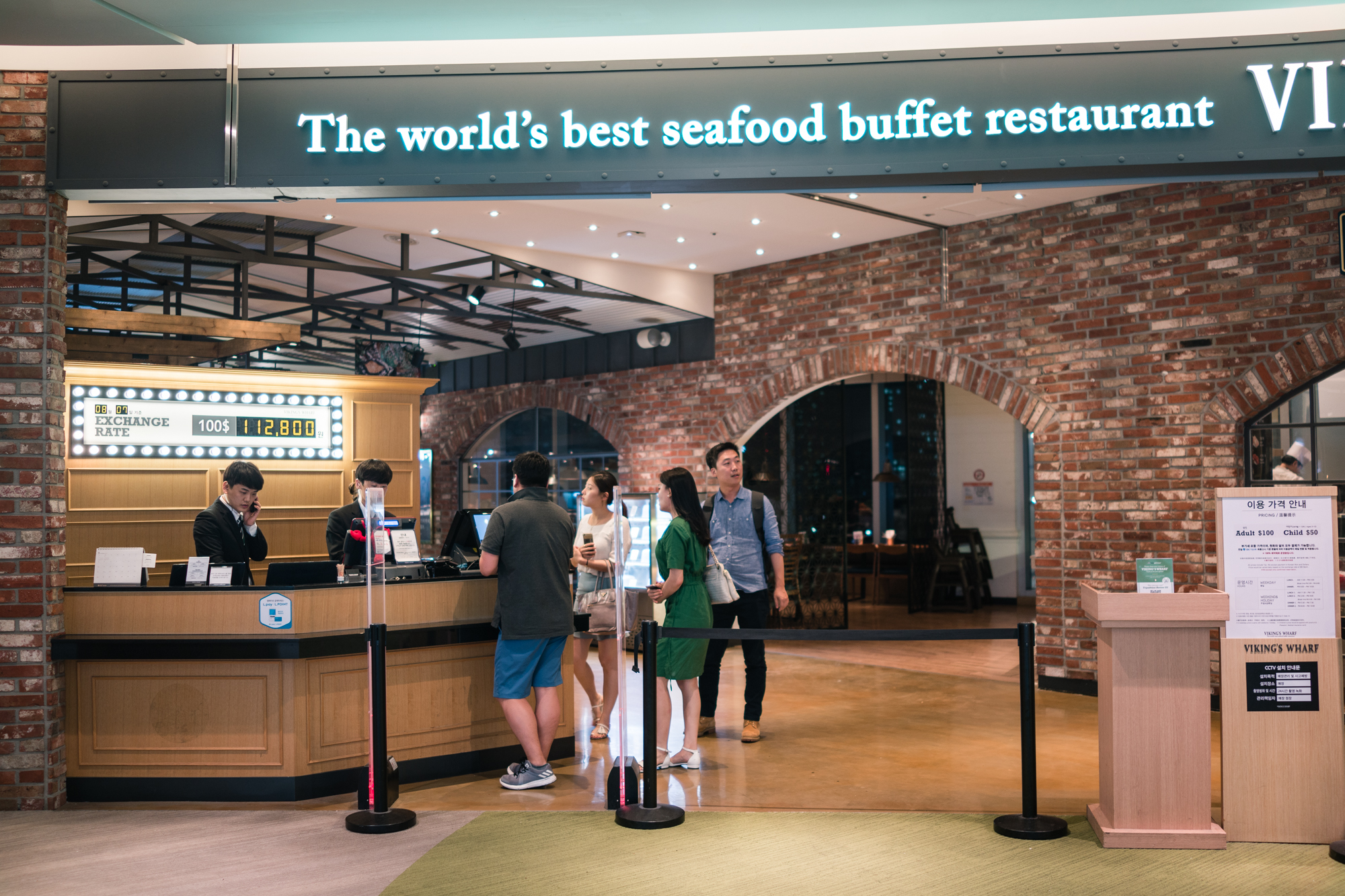Vikings Warf Seafood Buffet at Lotte World Mall