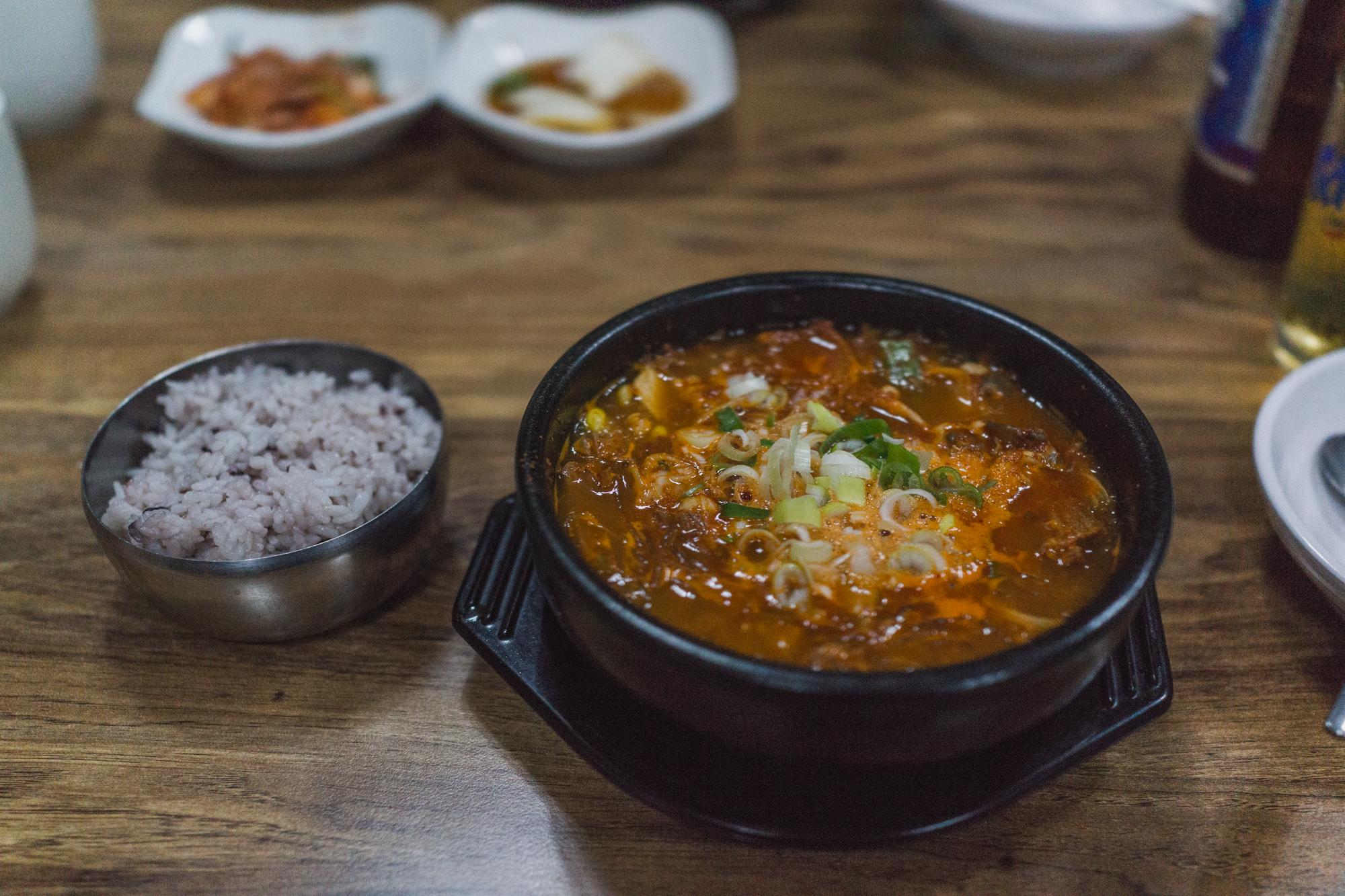 Yukgaejang in Jeju