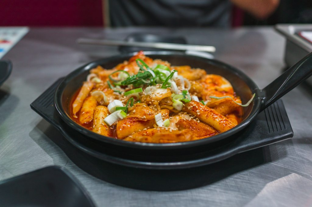 Korean Tteokbokki 떡볶이 in Seoul, Korea
