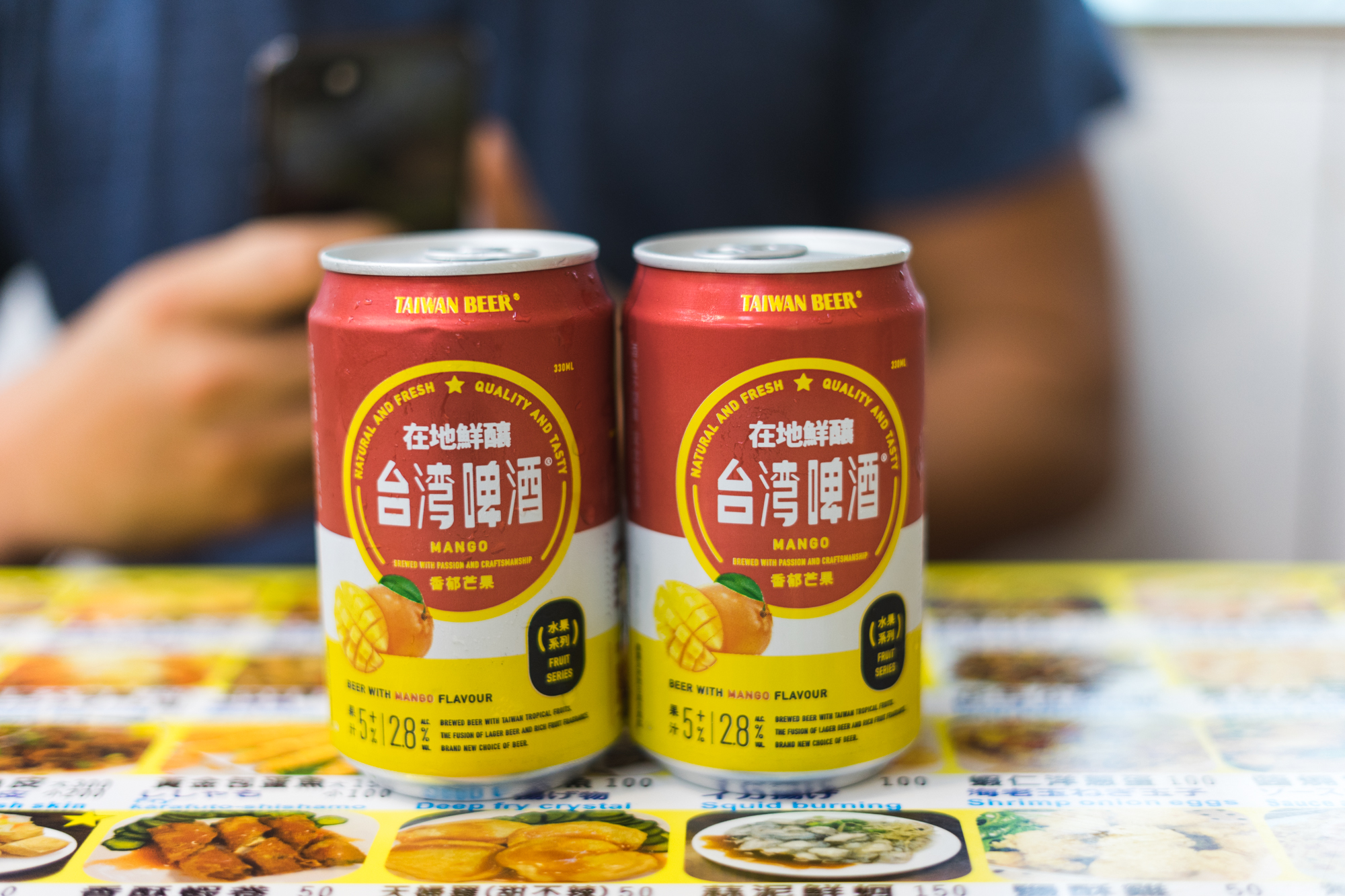 Taiwanese Mango Beer