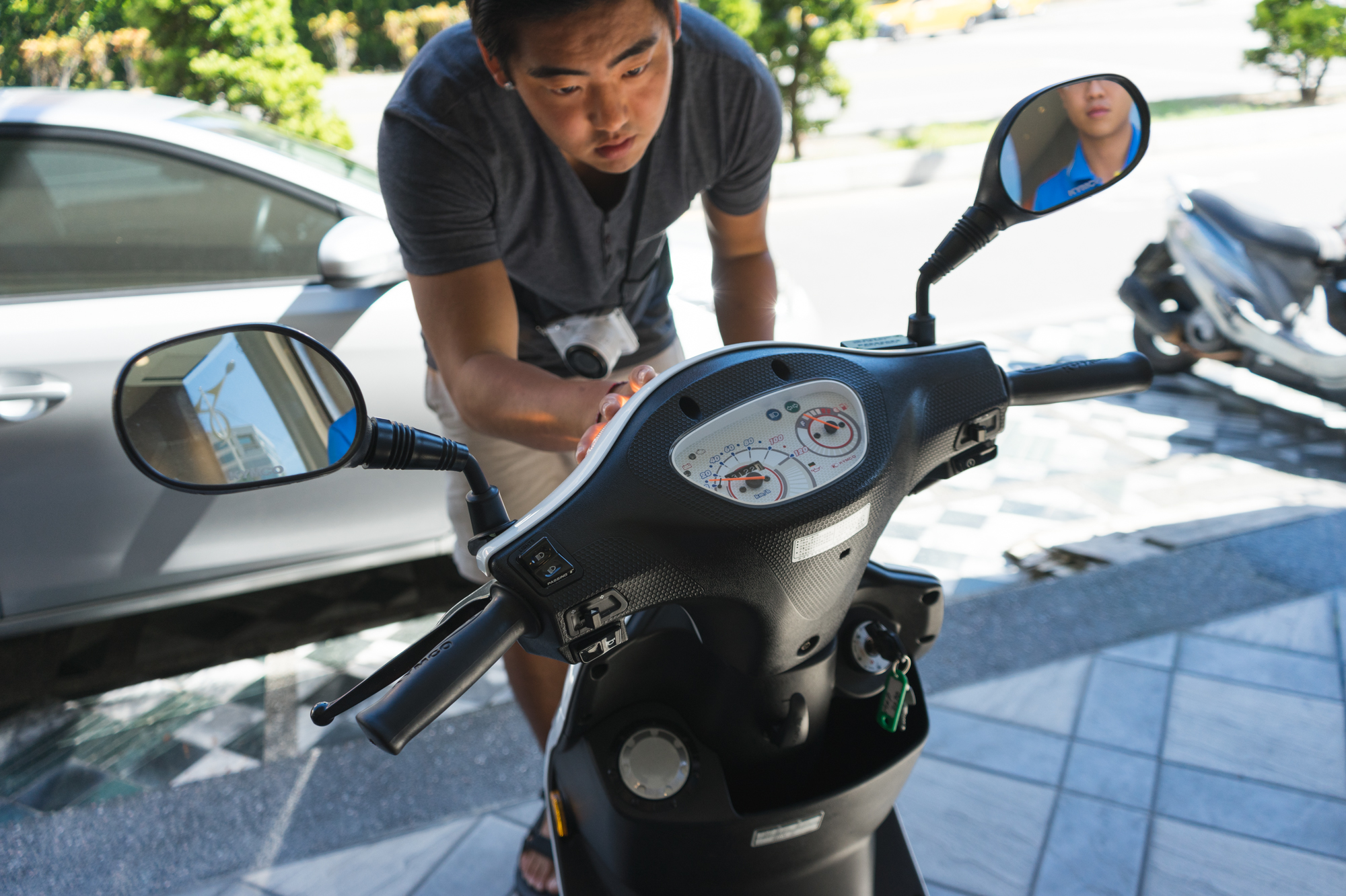 Renting a Scooter in Hualien Taiwan