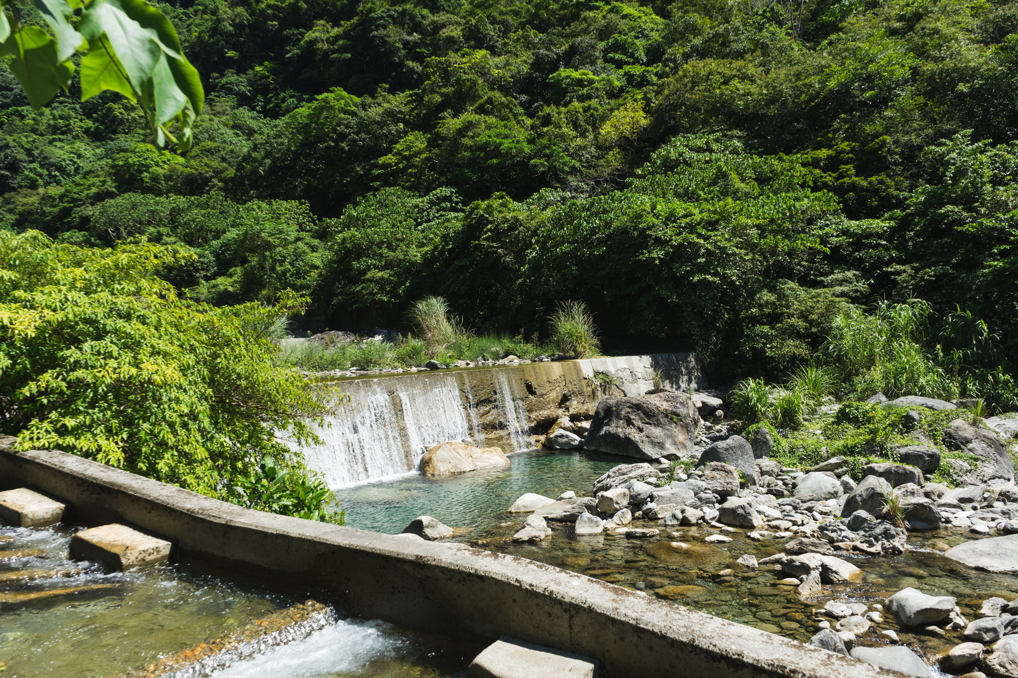 Hidden Pools in Hualien