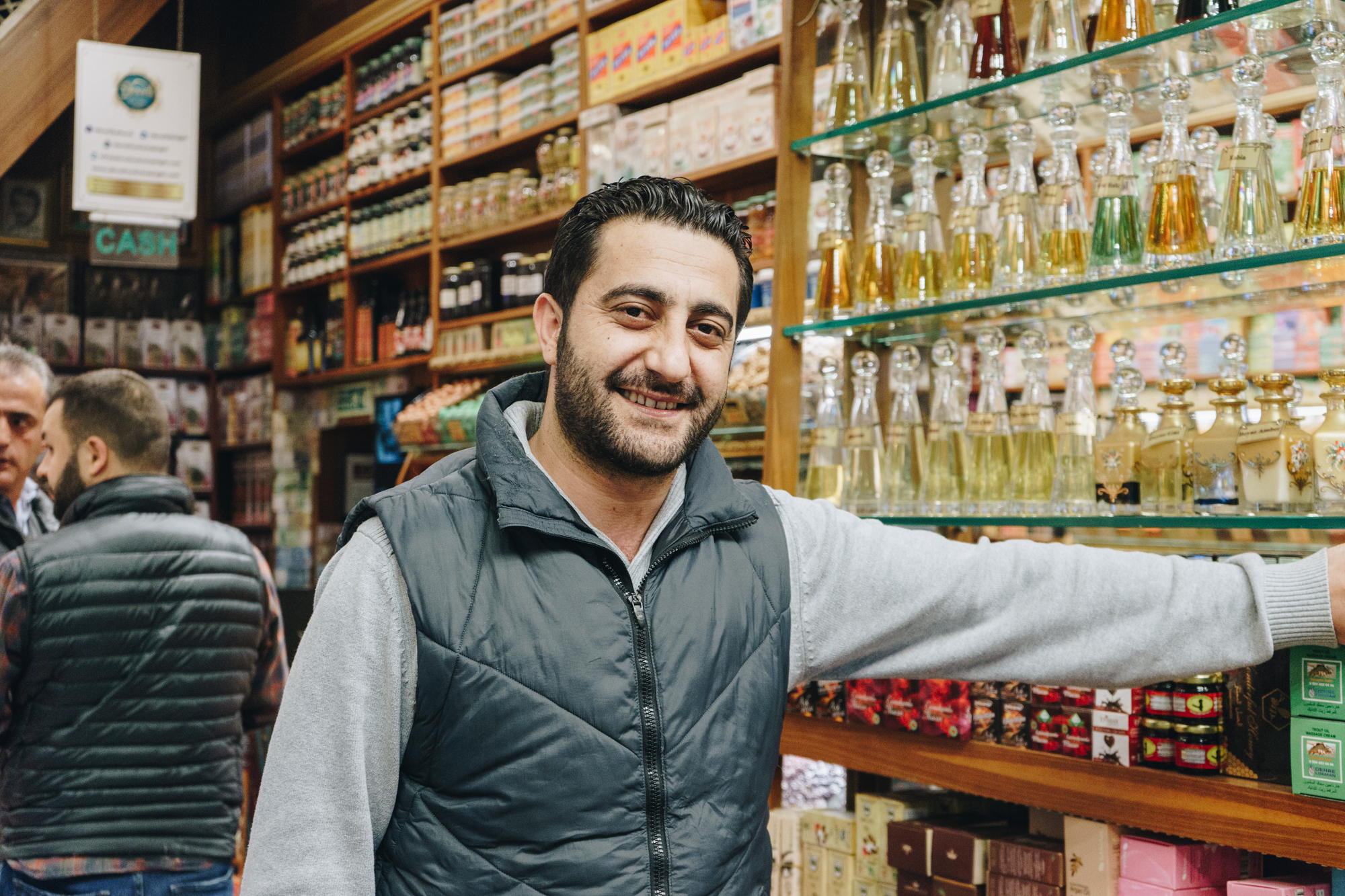 Istanbul Spice Bazaar Shop in Turkey