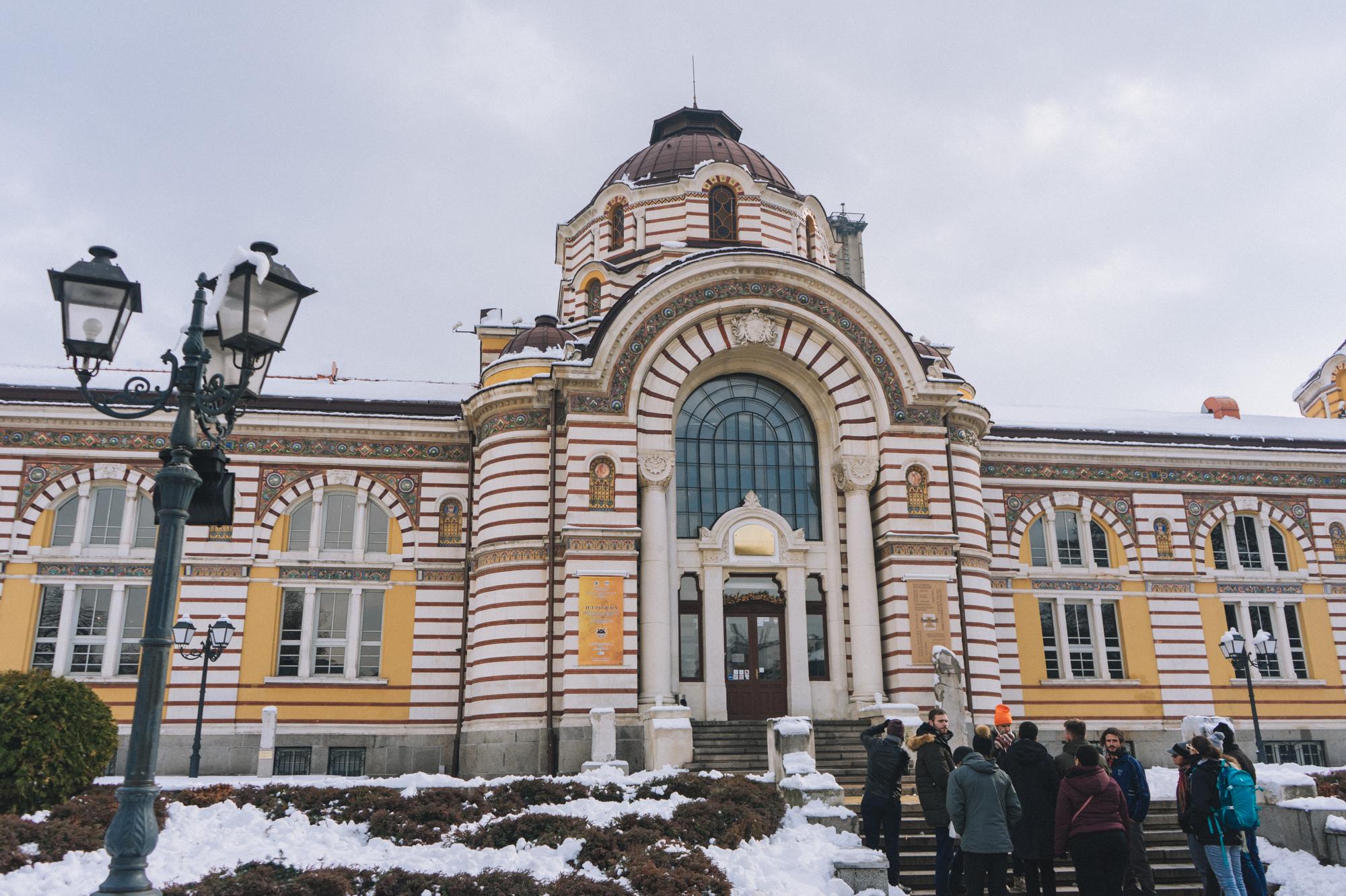 Bathhouse in Sofia Bulgaria | thetravelsketch.com