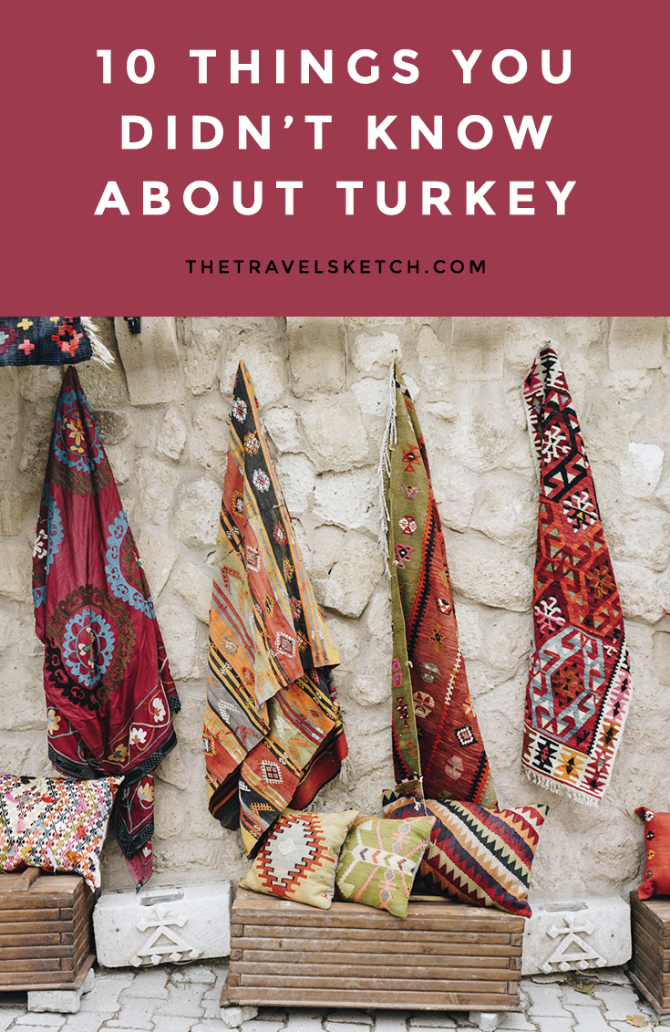 10 amazing facts about Turkey that I've bet you've never heard of! | www.thetravelsketch.com