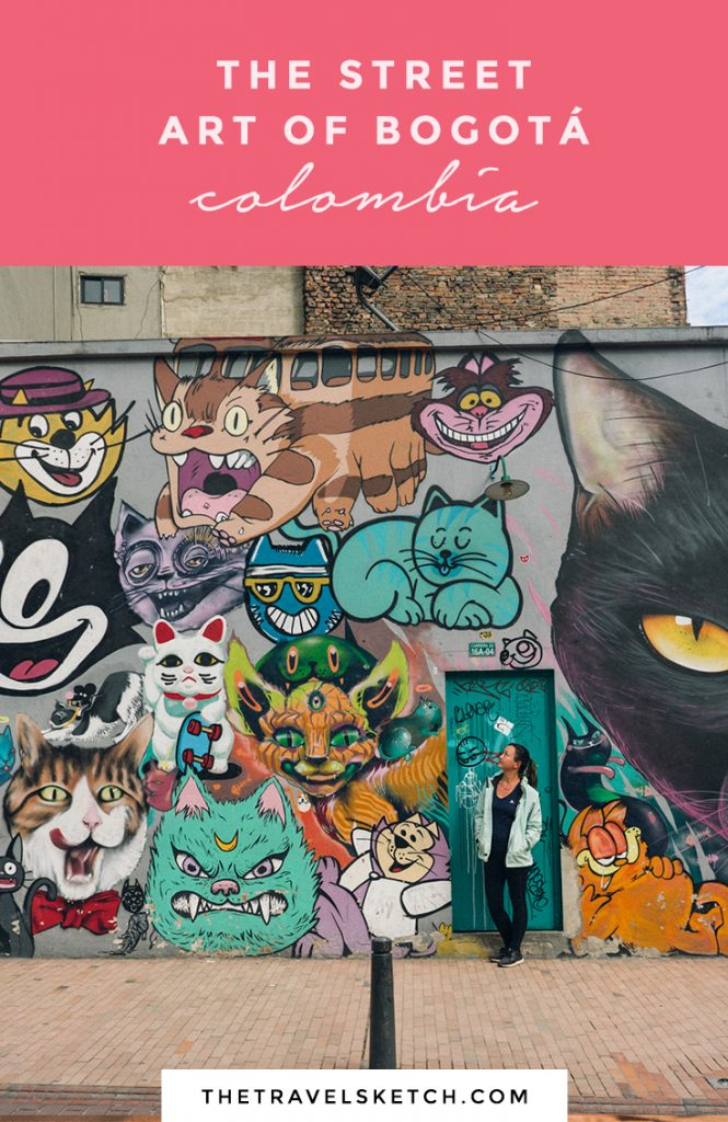 Learn about the history of Bogotá through this street art tour.