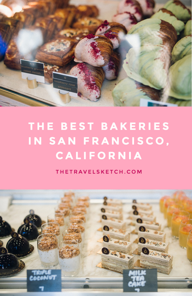 Check out the best bakeries in San Francisco, California!