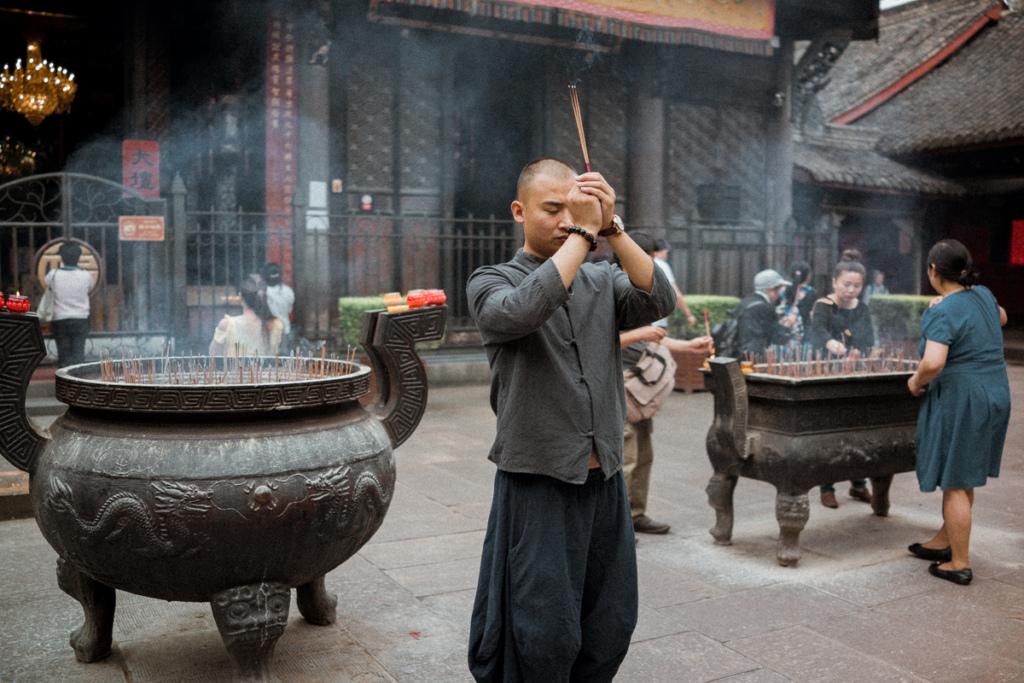 Wenshu Yuan Monestary