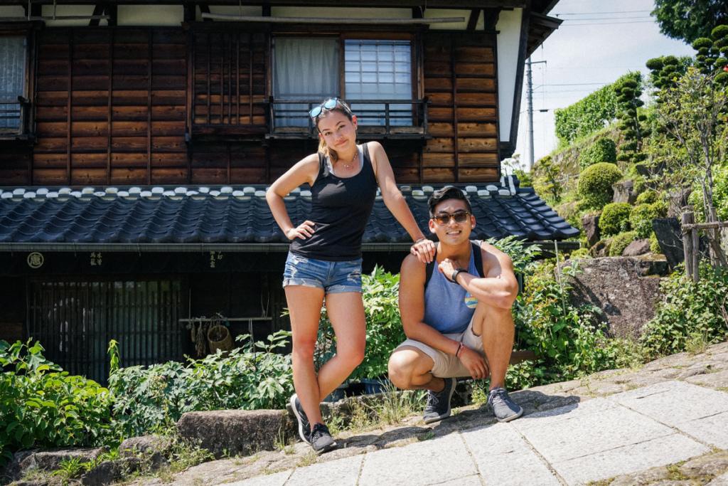 Kiso Valley Trail in Japan