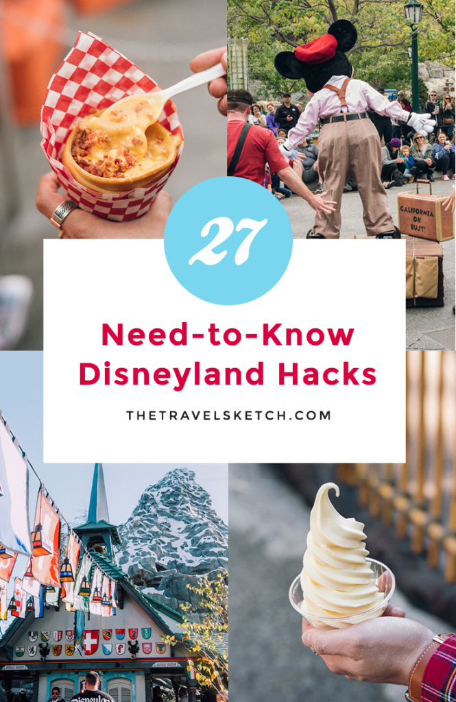 Maximize your Disney vacation with these 27 insider secrets and hacks for Disneyland. Including NEW tips for 2019!