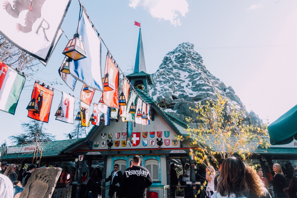 Matterhorn Bobsleds Attraction