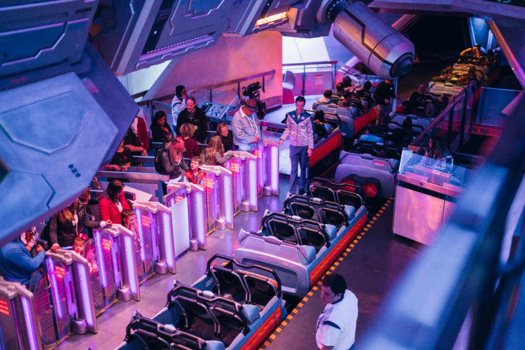 An inside look at the Space Mountain ride