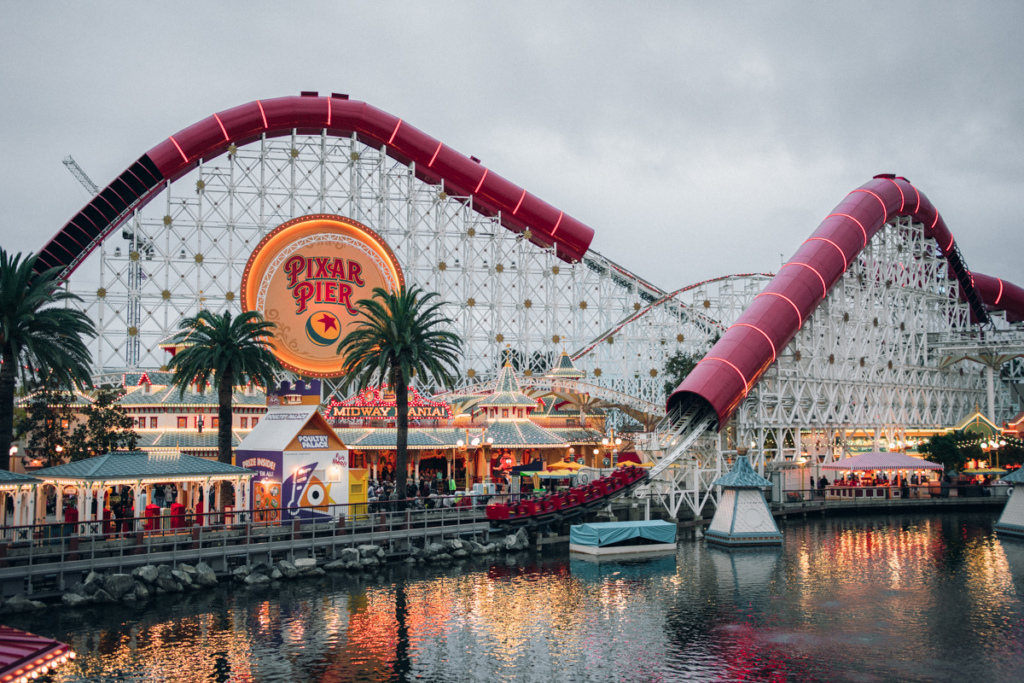 The Incredicoaster at Disney's California Adventure