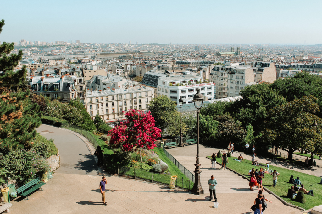 Views from in Montmatre, Paris