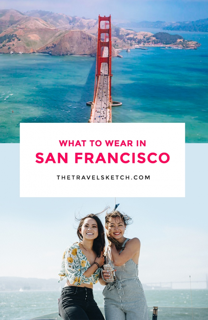 Going on a trip to San Francisco? Check out this seasonal packing guide on what to wear!