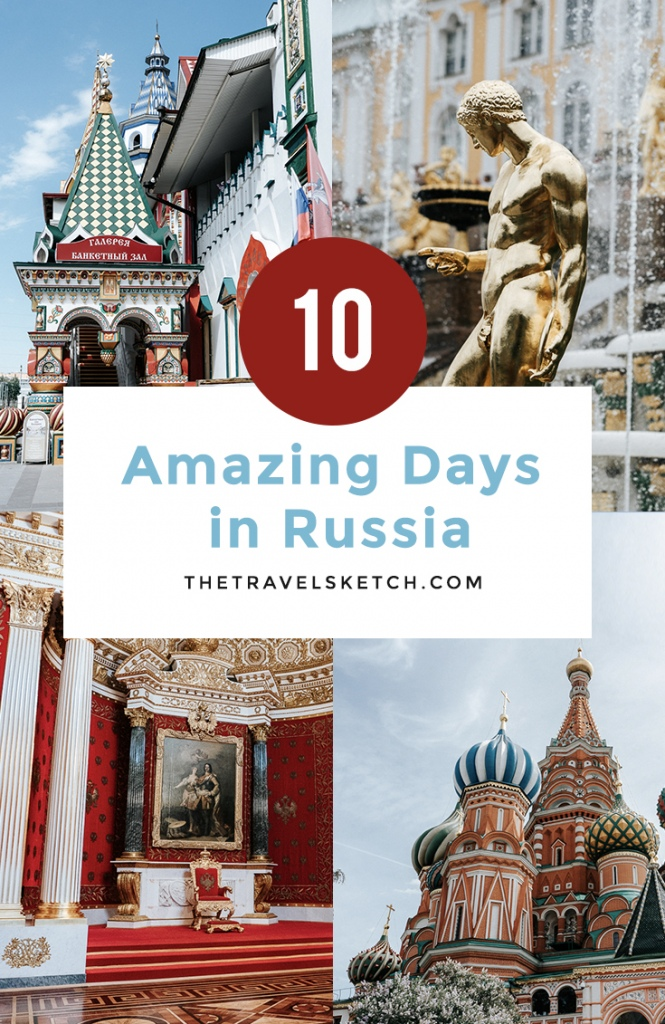 Check out this 10 day itinerary for visiting St. Petersburg and Moscow, including what to do, see, and eat!