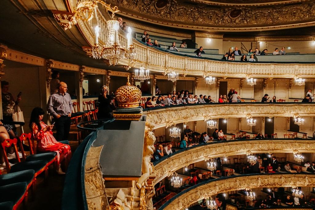 The famous Mariinsky ballet