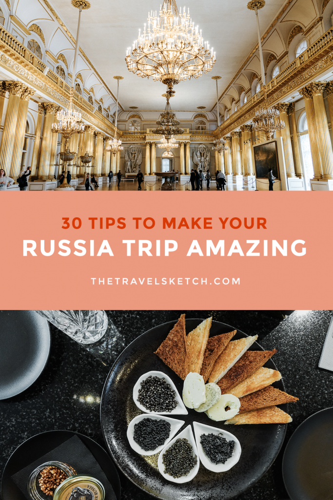 Planning a trip to Russia? Check out these tips to help make your trip run as smooth as possible!