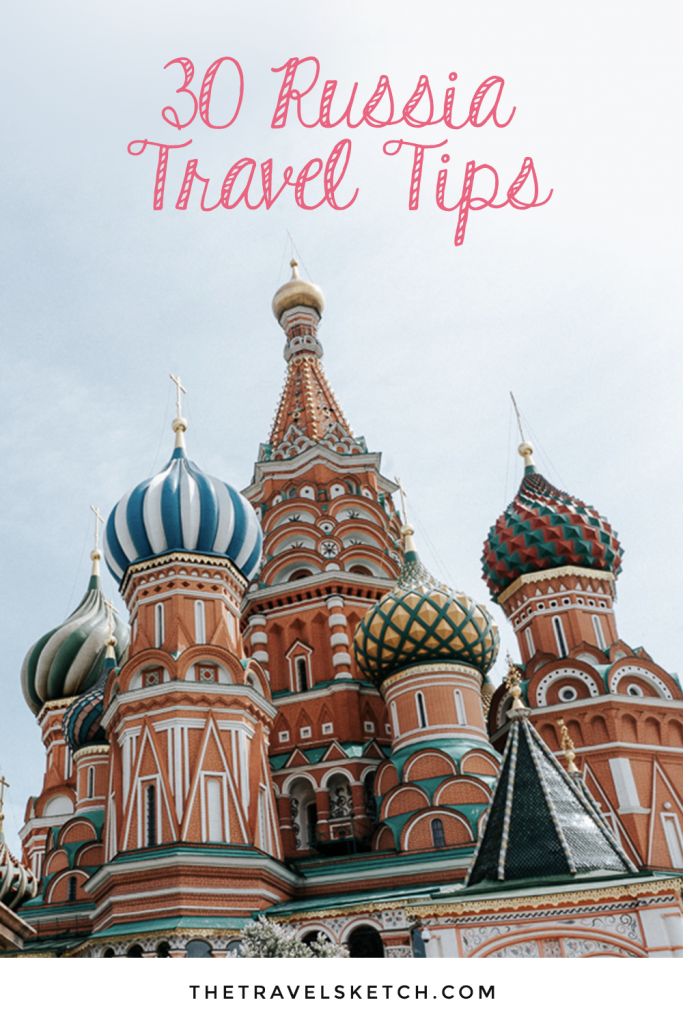 Planning a trip to Moscow, St. Petersburg, or somewhere else in Russia? Check out this travel guide to fully prepare yourself before you leave!